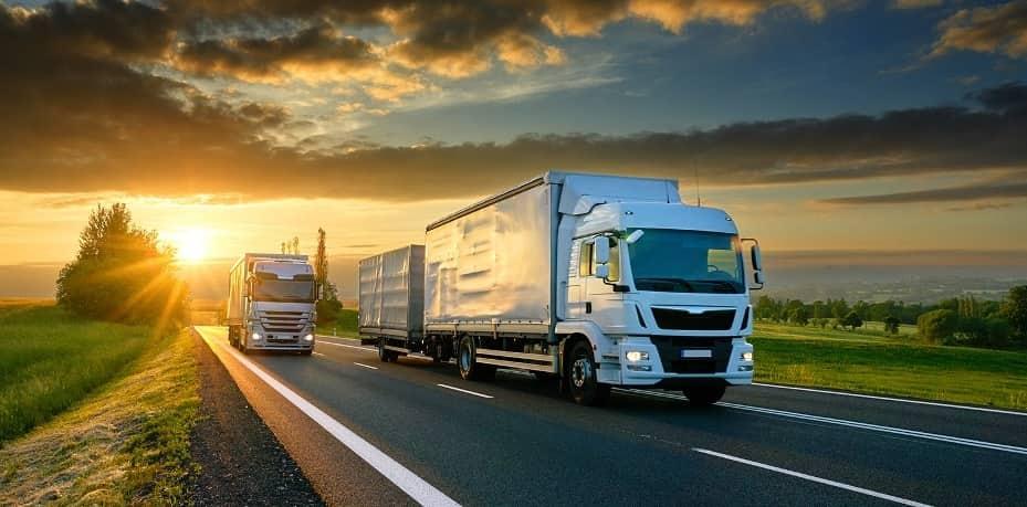 два грузовика
